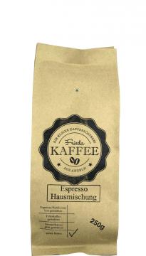 Espresso Hausmischung 250g ganze Bohnen
