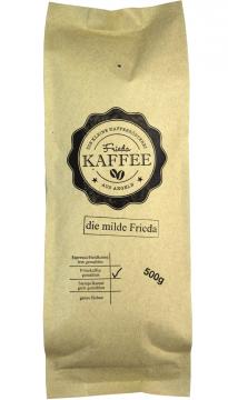 die milde Frieda 500g gemahlen für Filterkaffee