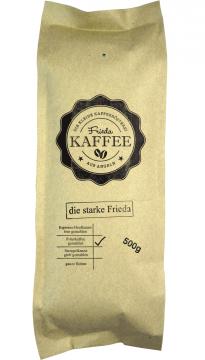 Die starke Frieda 500g gemahlen für Filterkaffee