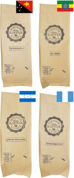 Probierset 4x 500g gemahlen für Filterkaffee