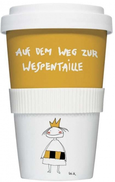 """Coffee-To-Go-Becher """"Wespentaille"""""""