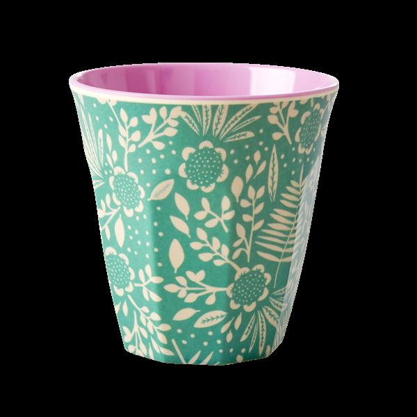 Rice Becher 0,2l / Fern and Flower Print
