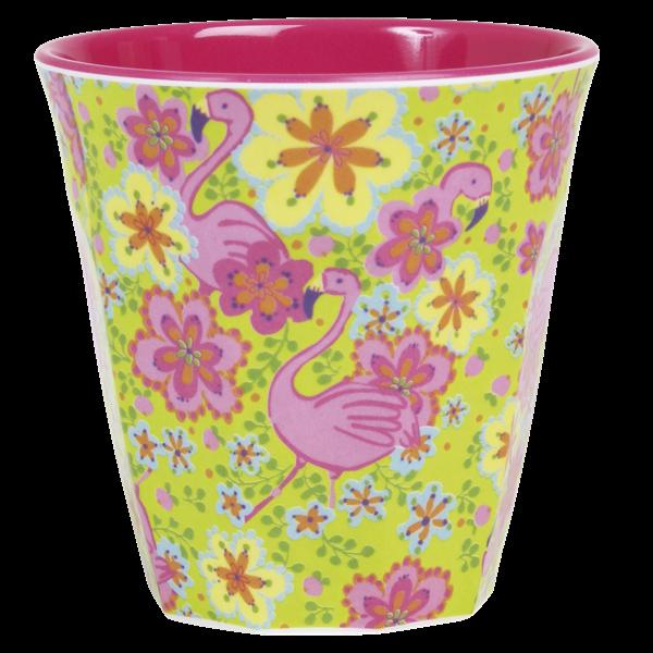 Rice Becher 0,2l / Flamingo Print