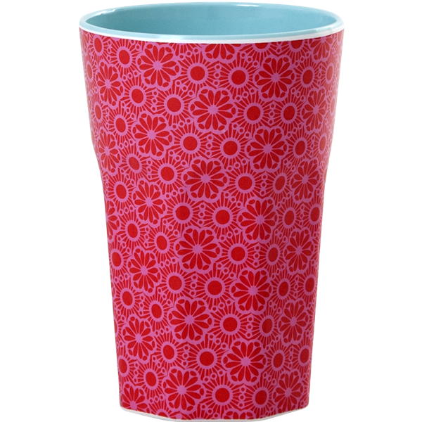 Rice Becher 0,4l / Marrakesh Print - Red and Pink
