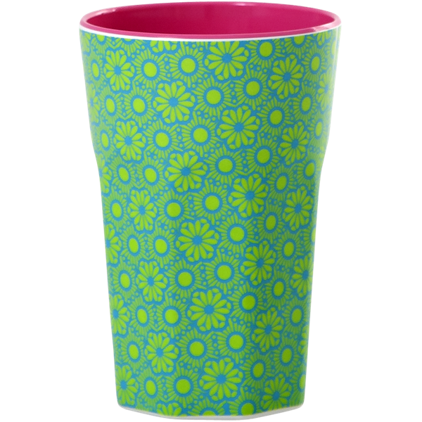 Rice Becher 0,4l / Marrakesh Print - Green and Turquoise