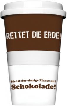"Coffee-To-Go-Becher ""Rettet die Erde"""