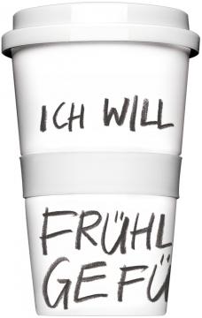 "Coffee-To-Go-Becher ""Frühlingsgefühle"""
