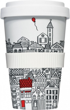 "Coffee-To-Go-Becher ""roter Luftballon"""