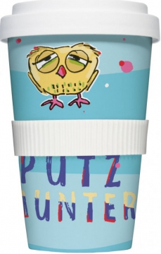 "Coffee-To-Go-Becher ""Putzmunter"""