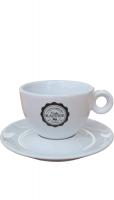 """Cappuccinotasse """"Frieda-Kaffee"""" mit Untertasse"""