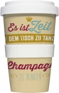 "Coffee-To-Go-Becher ""Champagner"""
