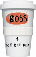 "Coffee-To-Go-Becher ""Ich bin der Boss"""